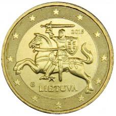 10 евро центов Литва