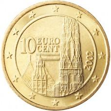 10 евро центов Австрия
