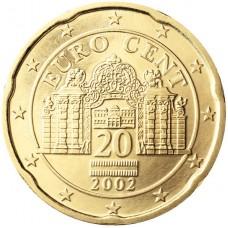 20 евроцентов Австрия 2002