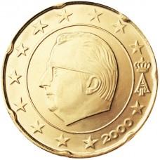 20 евро центов Бельгия
