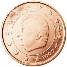 2 евро цента Бельгия UNC