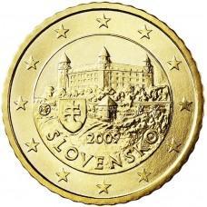 50 евро центов Словакия