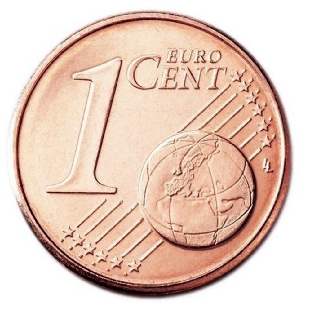 1 евро цент Словакия 2013 UNC