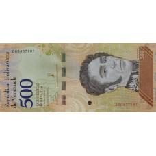 Венесуэла .500 боливар.2018.UNC
