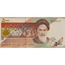 Иран 5000 риалов 2013 UNC пресс