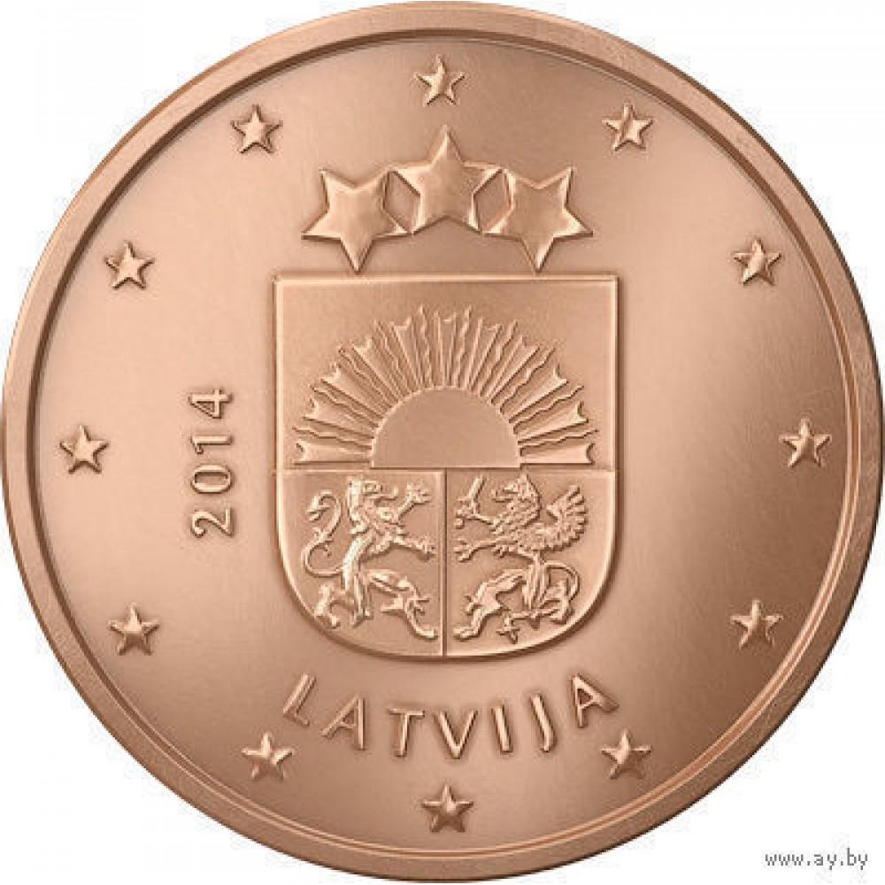 5 евро центов Латвия