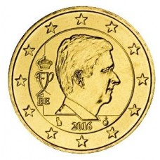 50 евро центов Бельгия