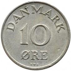 10 эре 1948-1960 Дания  (DANMARK)