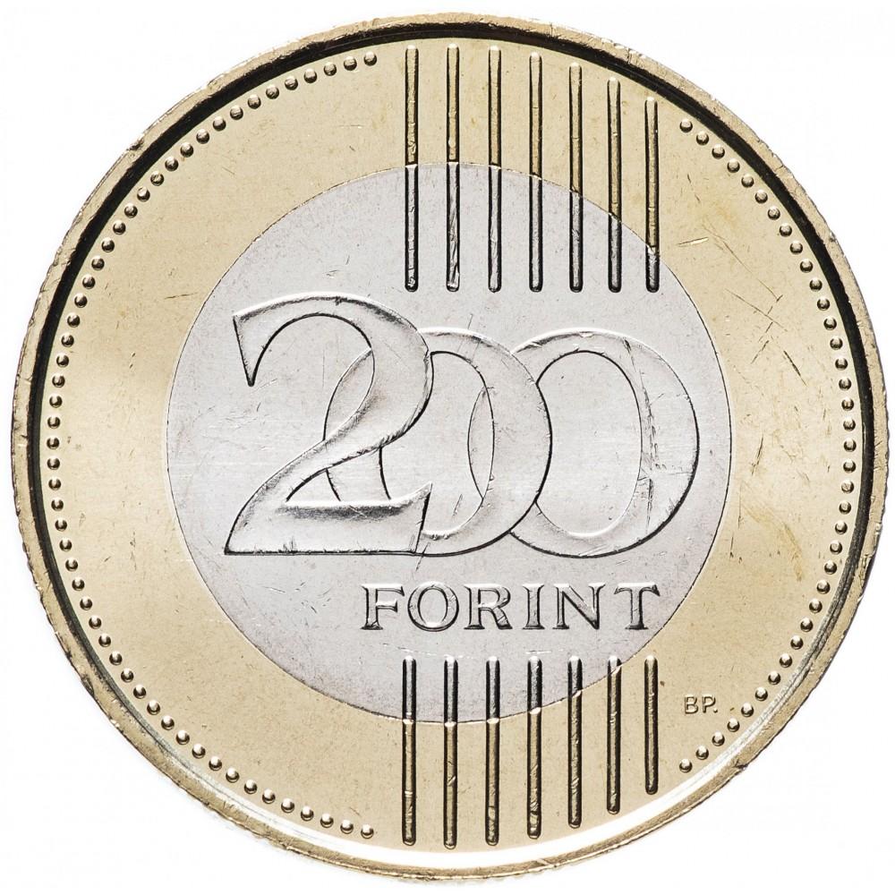 Купить 200 форинтов Венгрия 2009-2011