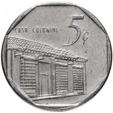 5 сентаво Куба 1994-2018
