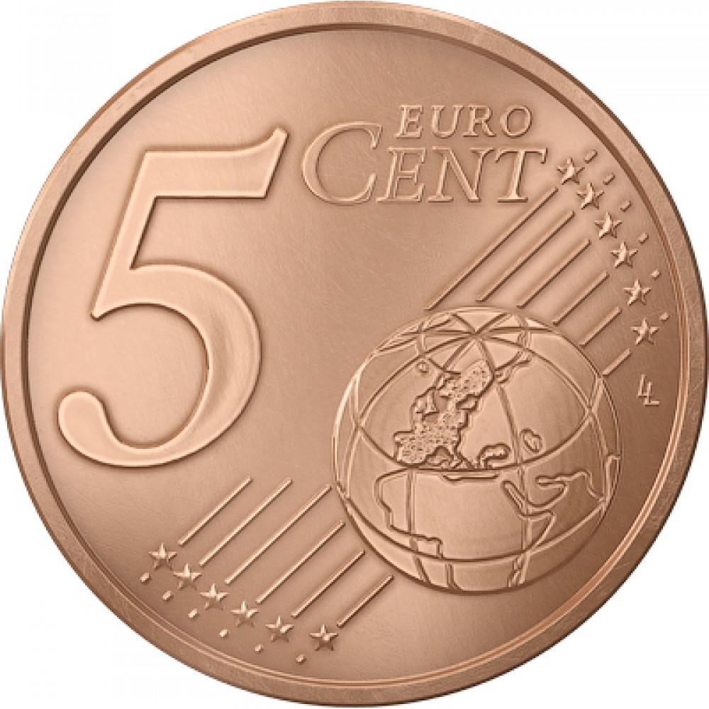 5 евро центов Франция 1999