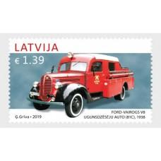 2019 Латвия.История латвийского автомобилестроения. Ford Vairogs V8 (81C)