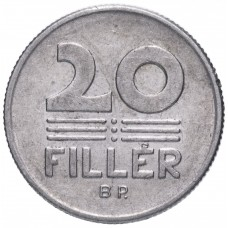 20 филлеров Венгрия 1967-1989