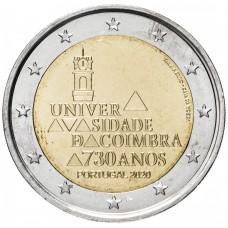 2 евро 2020 Португалия - Университет Коимбры UNC