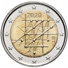 "2 Евро 2020 Финляндия - ""100 лет университету Турку"""