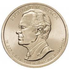 1 доллар 2016 Ричард Никсон , 37-й Президент США