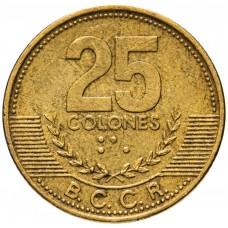 25 колонов Коста-Рика 2001-2005