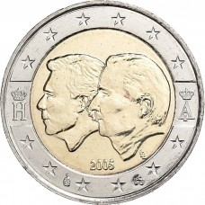 2 Евро 2005 Бельгия.Бельгийско-Люксембургский экономический союз