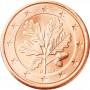 5 евро центов Германия 2002