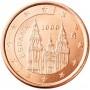 5 евро центов Испания 1999