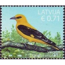 2015 Латвия.Птицы. Золотистая ржанка
