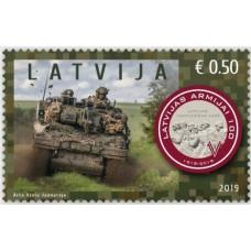2019 Латвия.100-летие Латвийских национальных вооруженных сил Latvian Army