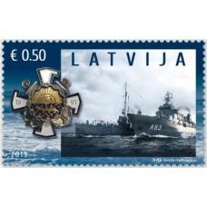 2019 Латвия.100-летие Латвийских национальных вооруженных сил  Latvian Navy