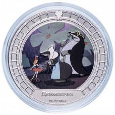 """2 доллара 2008 год """"Мультипликация Дюймовочка"""""""