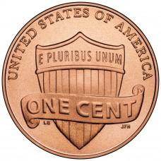 1 цент США 2010-2018 год