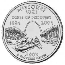 25 центов США 2003 Миссури