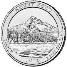 25 центов США 2010 Национальный лес Маунд Худ, Орегон, 5-й парк