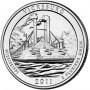 25 центов США 2011 Национальный парк Виксбург, Миссисипи, 9-й парк
