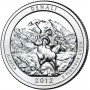 25 центов США 2012 Национальный парк Денали, 15-й парк