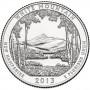 25 центов США 2013 Национальный лес Белые горы, 16-й парк
