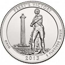 25 центов США 2013 Международный мемориал мира, 17-й парк