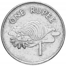 Сейшелы 1 рупия 1982-2010