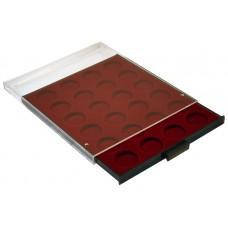 Бокс Leuchtturm на 24 ячейки/ кассета для монет