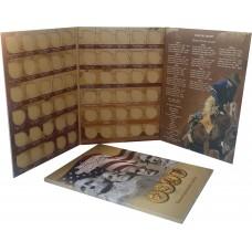 Альбом для монет 1 доллар США - Президенты и Сакагавея (Индианка)