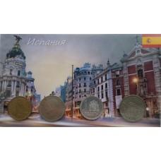 Набор монет Испания