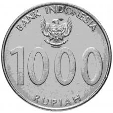 1000 рупий Индонезия 2010