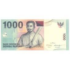 Индонезия . 1000 рупий 2013 года.  UNC пресс