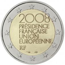 2 Евро 2008 Франция XF.Председательство Франции в ЕС