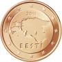 5 евро центов Эстония 2011