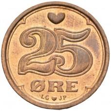 25 эре 1990-2008 Дания  (DANMARK)