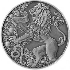 1 рубль Лев - 2015 год Беларусь, Зодиакальный Гороскоп