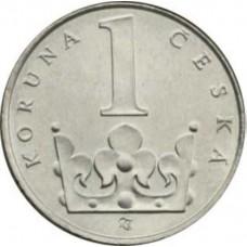 1 крона Чехия 1993-3021