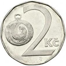 2 кроны Чехия 1993-2020