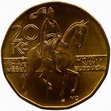 20 крон Чехия 1993-2021