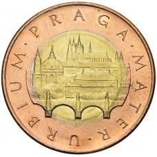 50 крон Чехия 1993-2021
