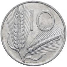 10 лир Италия 1951-2001